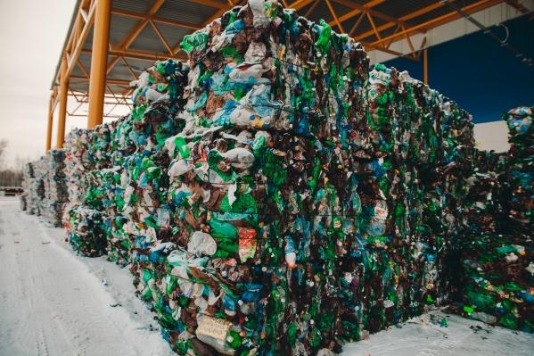 Вот так выглядит отсортированный мусор, который ООО «ТЭО» собирается продать