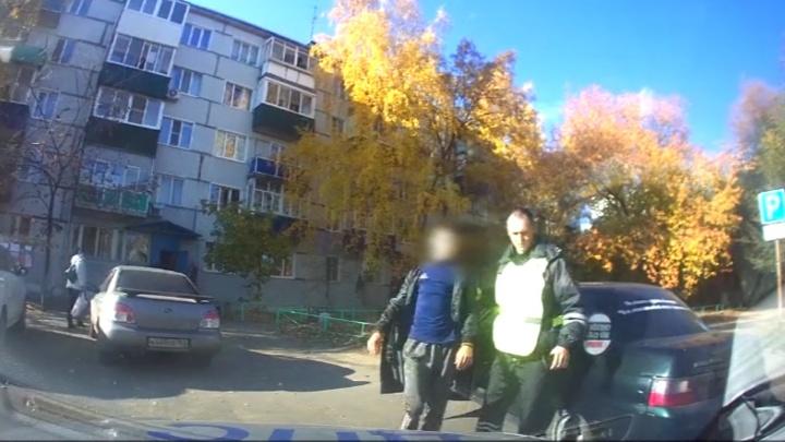 В Сызрани 16-летний мальчик спровоцировал полицейскую погоню