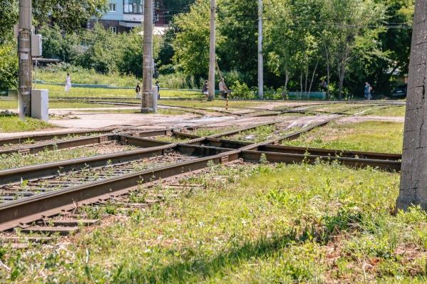Рельсы разместят вдоль Московского шоссе
