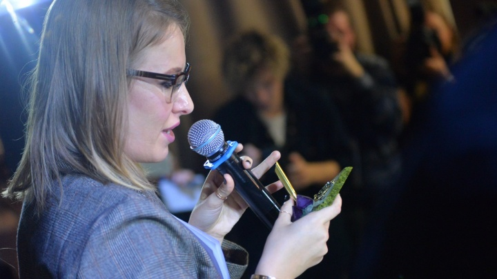 """""""Я - возможность выказать протест"""": Ксения Собчак ответила на вопросы екатеринбуржцев"""