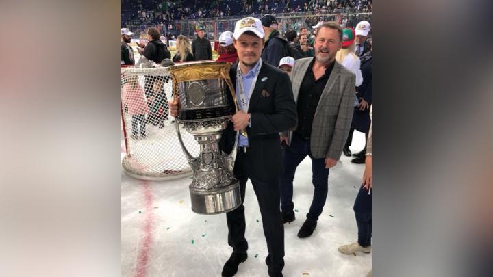 Воспитанник «Трактора» привезёт в Челябинск Кубок Гагарина