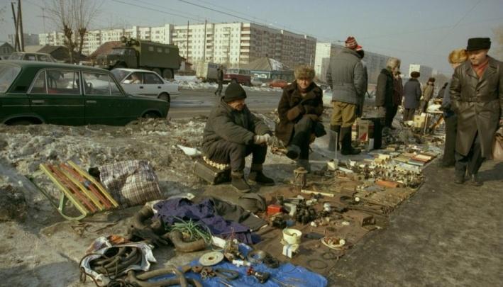 Лучшее за год.Канава вместо Ипподромки и башня Pringles на Маркса: каким был Новосибирск в 90-х