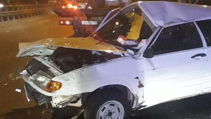 «Водитель был пьян»: на юге Волгограда на «штанах» разбилась «четырнадцатая»