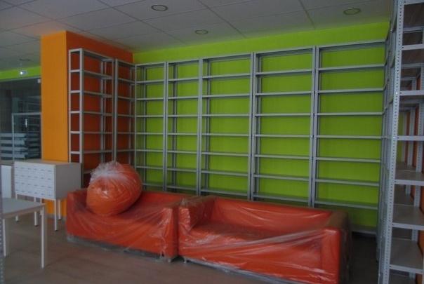 В районе массовой застройки откроется новая библиотека: смотрим фото за месяц до открытия