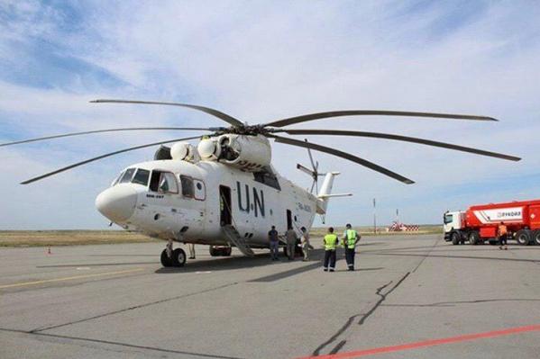 После передышки в городе-герое вертолет вылетел в Самару