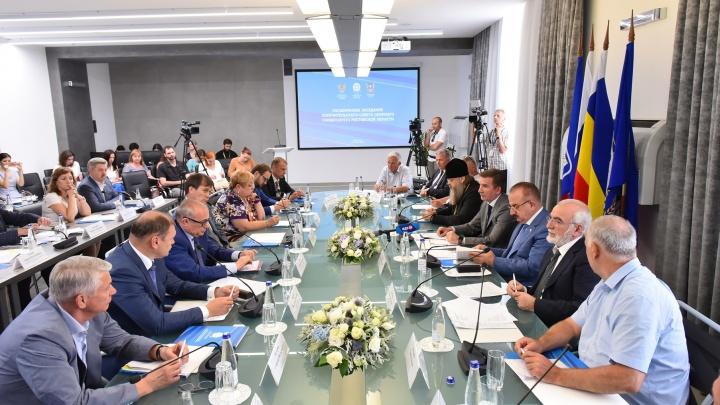 На Попечительском совете ДГТУ Бесарион Месхи анонсировал план модернизации кампуса университета