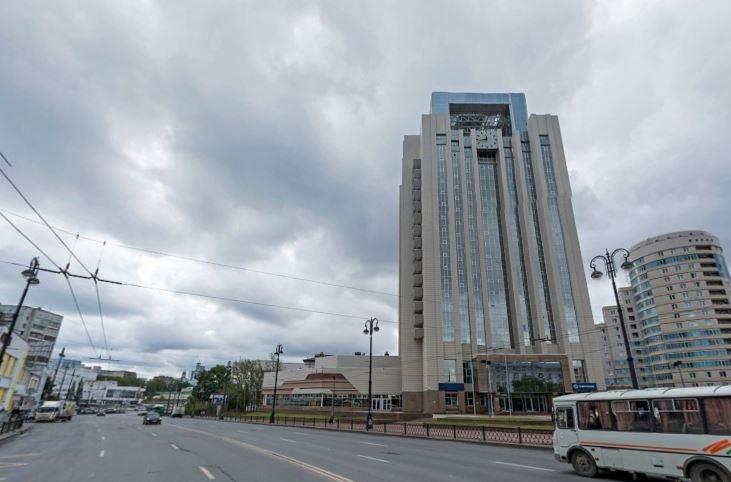 Это тоже здание бывшей гостиницы