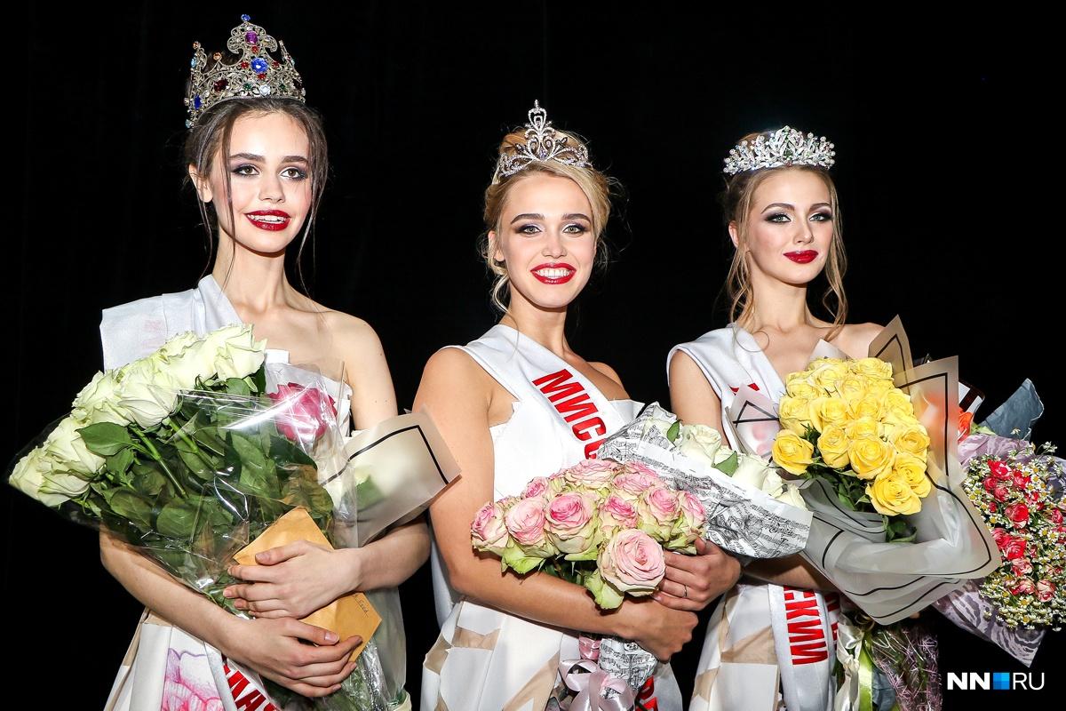 В прошлый раз главными красавицами города сталиАнастасия Шиканова, Дарья Картышова и Мария Мартышко