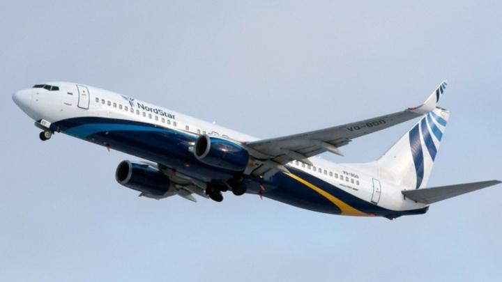 Самолёт из Новосибирска кружит над Красноярском, вырабатывая топливо