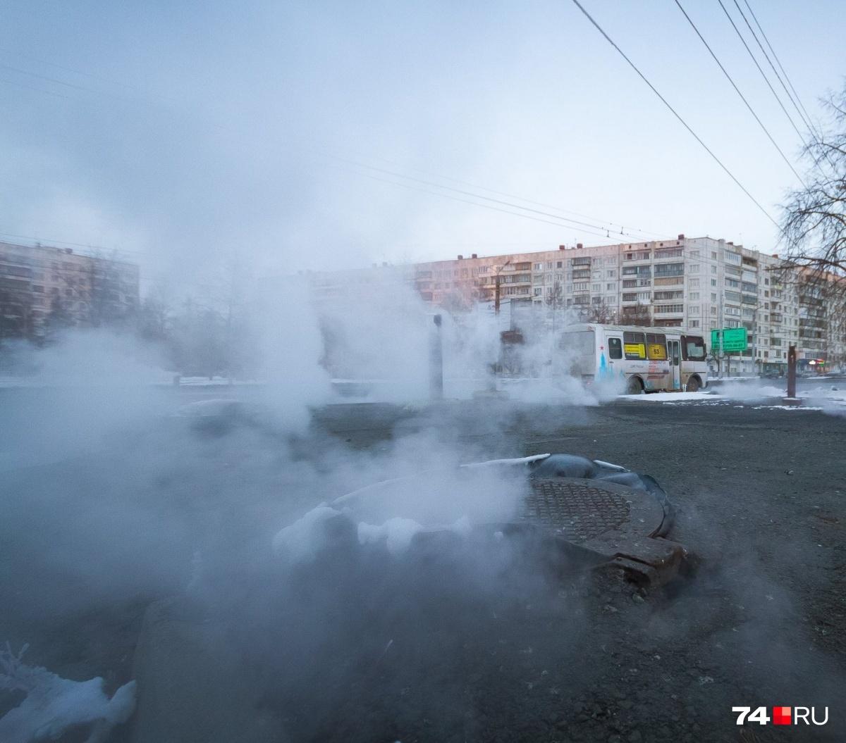 Из-за ремонта сетей жители оставались без тепла неоднократно