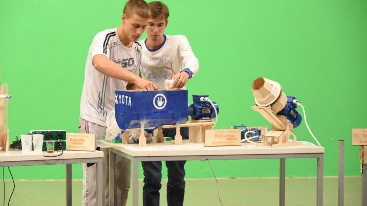 Установки для освещения, полива, разделки колбас: «Проекториум» собрал лучшие студенческие проекты