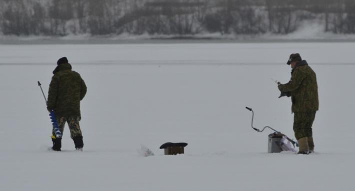 Упорный рыбак обеспокоил жителей домов у 4-го моста