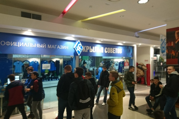 Предварительная продажа билетов открыта в магазине «Сила спорта» на Московском шоссе