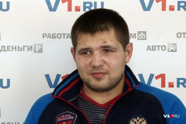 Волгоградец добился лучшего результата в карьере