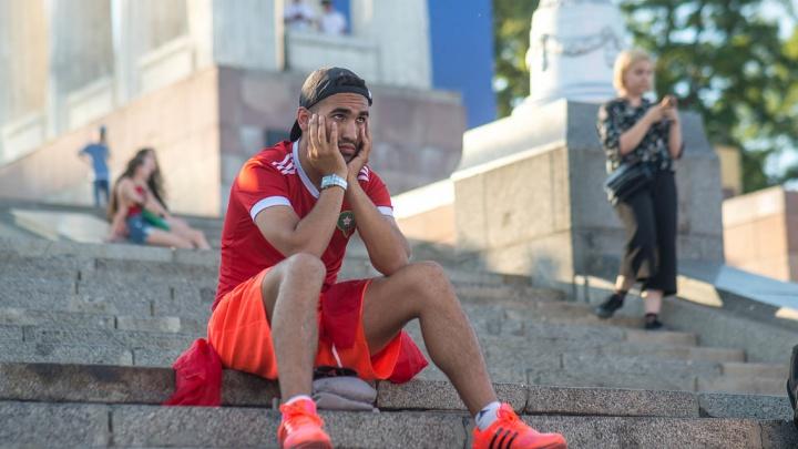 Фан-зона Волгограда вымерла после матча Россия — Испания