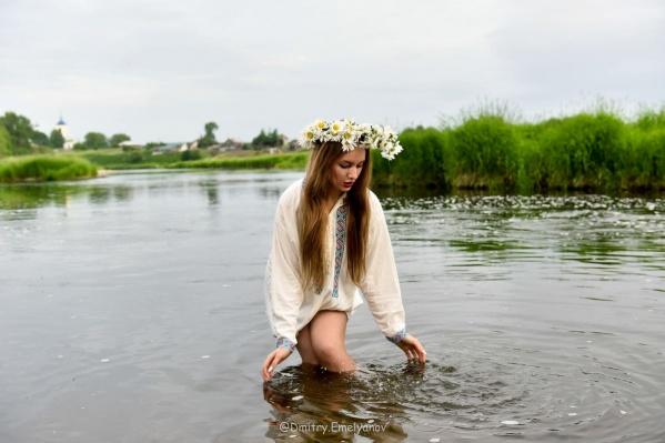 Фотосессия на реке Чусовой
