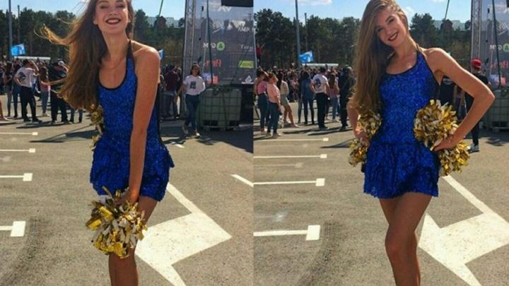 Чирлидерша из Тюмени поедет на конкурс красоты «Мисс Туризм России»