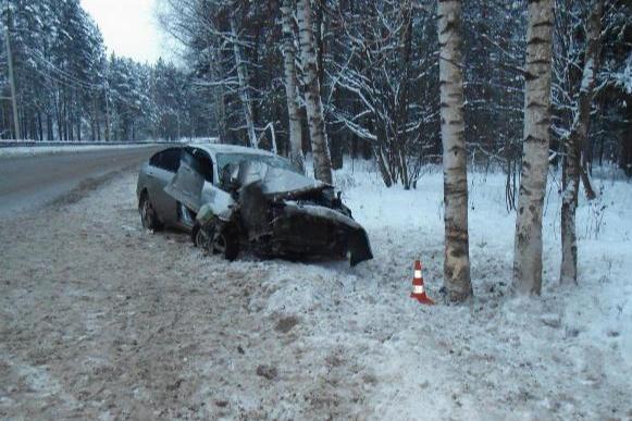 ДТП произошло на трассе Ярославль — Любим 1 января 2019 года