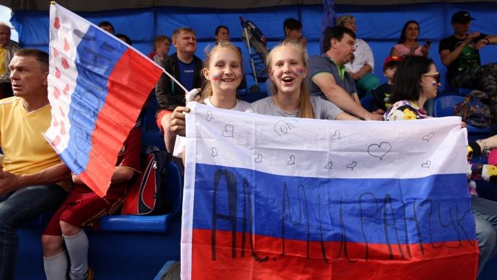 Цвет настроения — Россия — Уругвай. Как менялись лица болельщиков по ходу игры: 20 фото