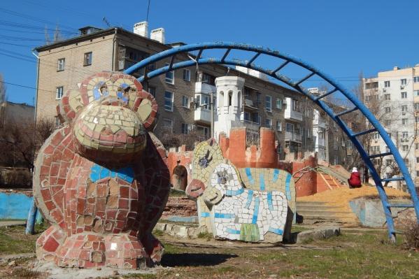 Стройотряды построили детские городки еще в 70-х годах