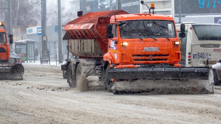 Коммунальные службы Самары пожаловались на нехватку полигонов для вывоза снега