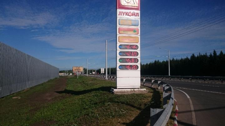 Цены стремятся ввысь: в Башкирии подорожал бензин на заправках «Лукойла» и «Башнефти»