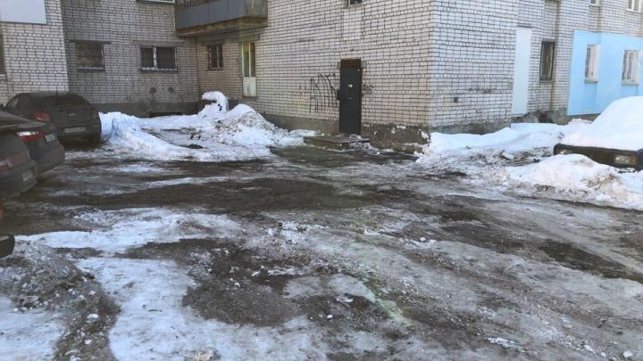 В Нижнем Новгороде почистили улицу, по которой не смогла проехать скорая