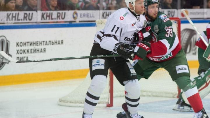 «Трактор» уступил «Ак Барсу» в первом матче финала Востока