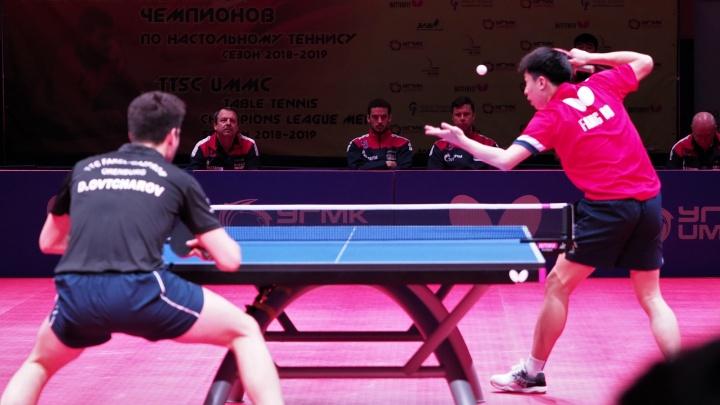 Поединок длился больше четырех часов: теннисисты УГМК сразились с игроками из Оренбурга