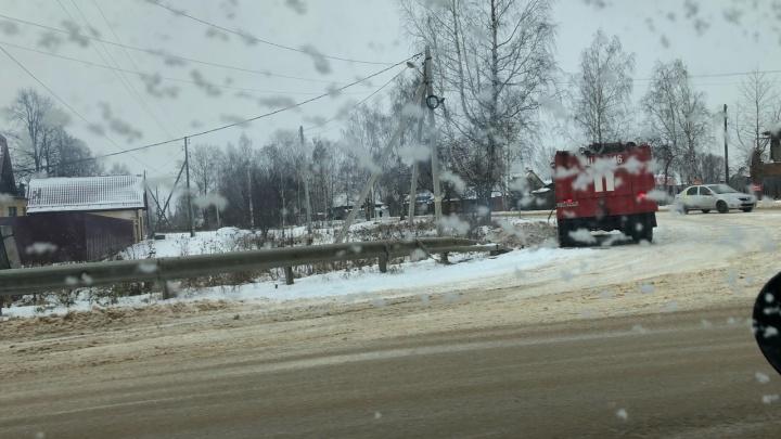 В Невьянске три сотни домов остались без электричества из-за короткого замыкания