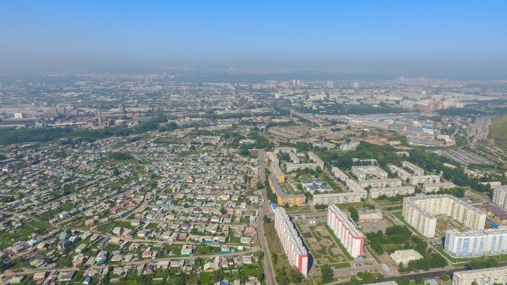 Красноярск попал в топ-20 грязных городов России