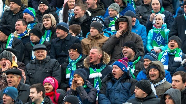 В Самаре начали продавать абонементы на весенние матчи «Крыльев Советов»