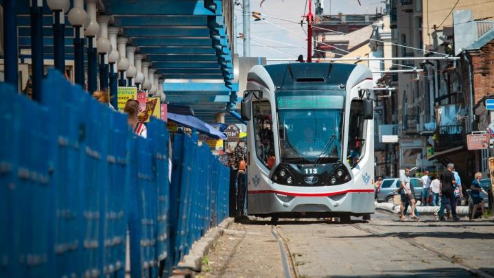В Александровку на трамвае: в нескольких районах Ростова проложат трамвайные пути
