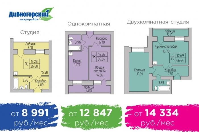 В Новосибирске ипотека впервые стала дешевле, чем аренда