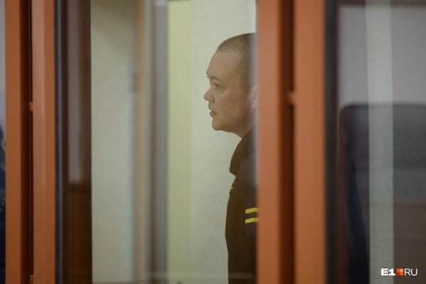 Во время суда Андрей Черняев вел себя довольно вызывающе