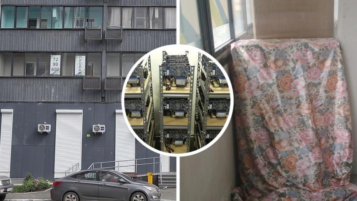 «Шум, будто самолёт взлетает»: челябинцы ополчились на соседа, устроившего в квартире майнинг-ферму