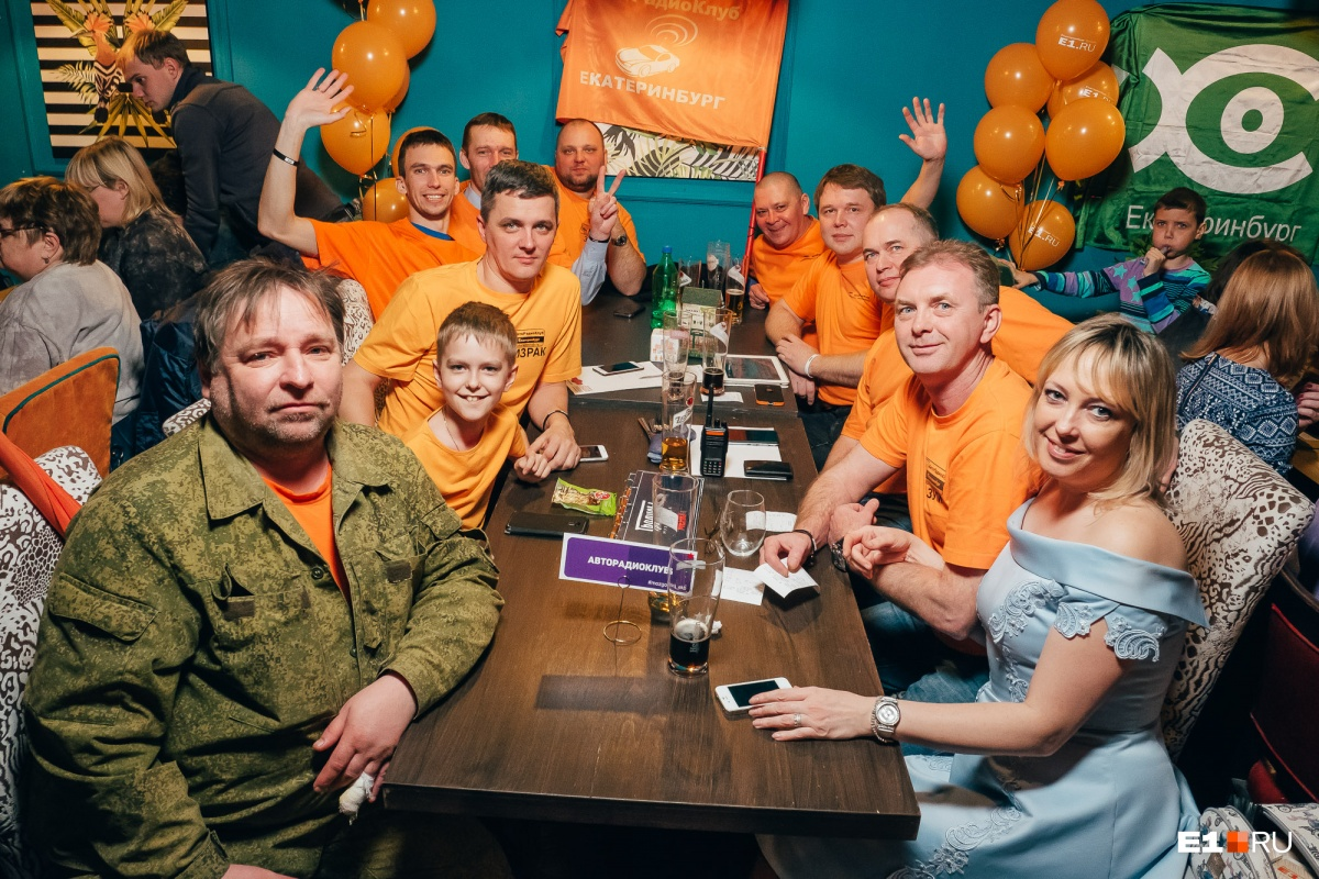 Самая многочисленная команда участников и болельщиков «Авторадиоклуб»