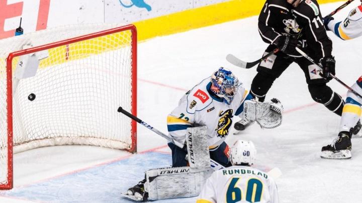 Челябинский «Трактор» проиграл ХК «Сочи» в первой домашней игре года