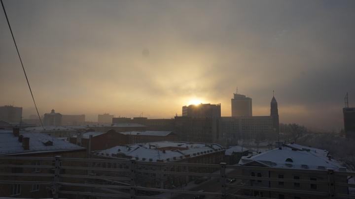 В Красноярске ввели первый в этом году режим «чёрного неба»