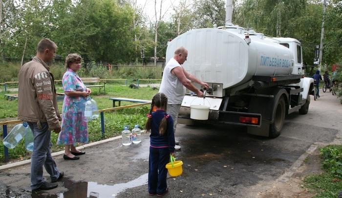 В Перми цистерны с водой заговорили человеческим голосом