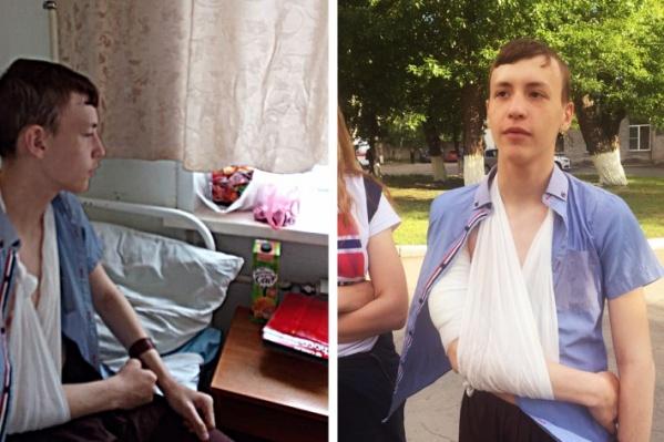 После нападения школьник некоторое время находился в больнице