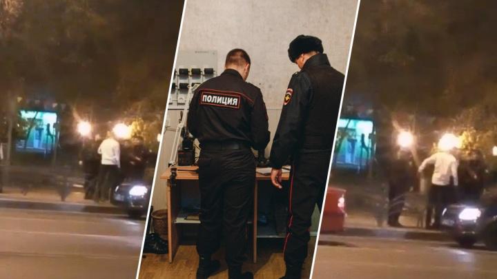 «Жесткое месиво»: в центре Тюмени росгвардейцы разняли дерущихся мужчин