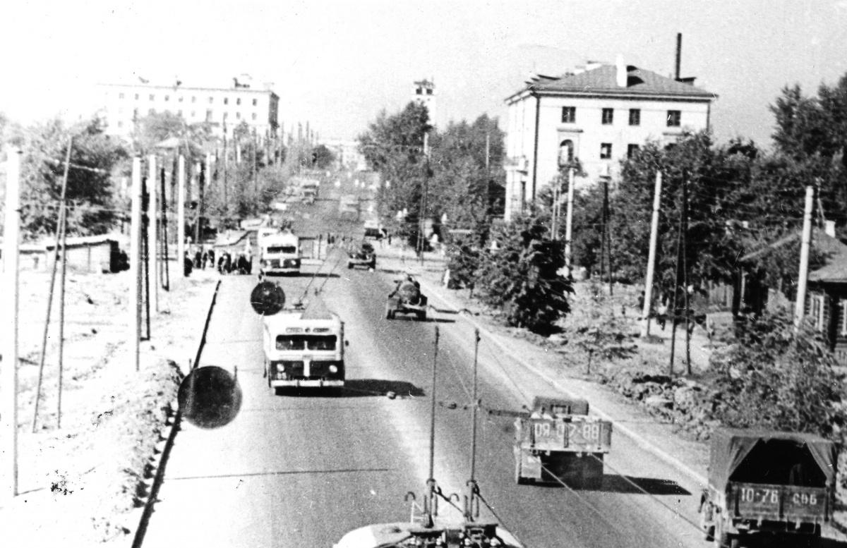 От Челябинского тракта в направлении Фрунзе