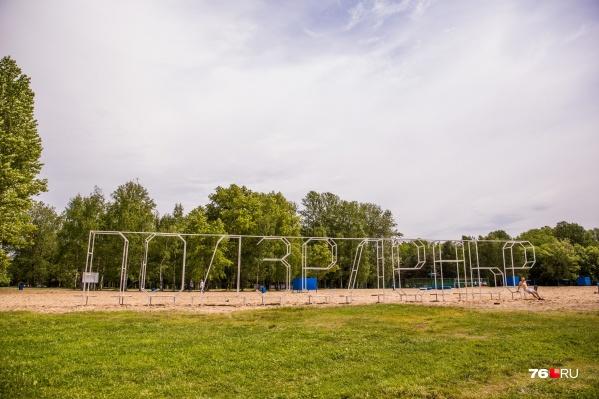 Часть парка на Подзеленье не планируют обрабатывать от паразитов