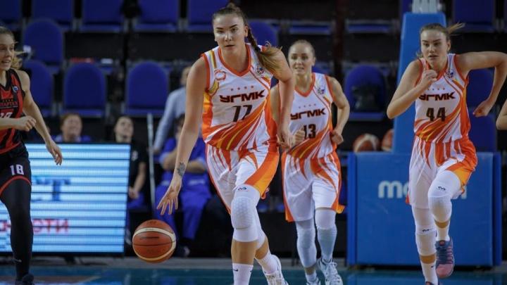 Баскетболистки УГМК разделались с подмосковной «Спартой» и вышли в финал Кубка России
