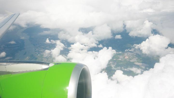 Самолёт из Новосибирска не смог приземлиться на Камчатке из-за сильного ветра