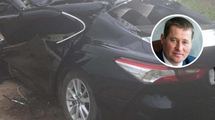 Глава Оханска Дмитрий Байдин попал в реанимацию после серьезной аварии на трассе под Воткинском