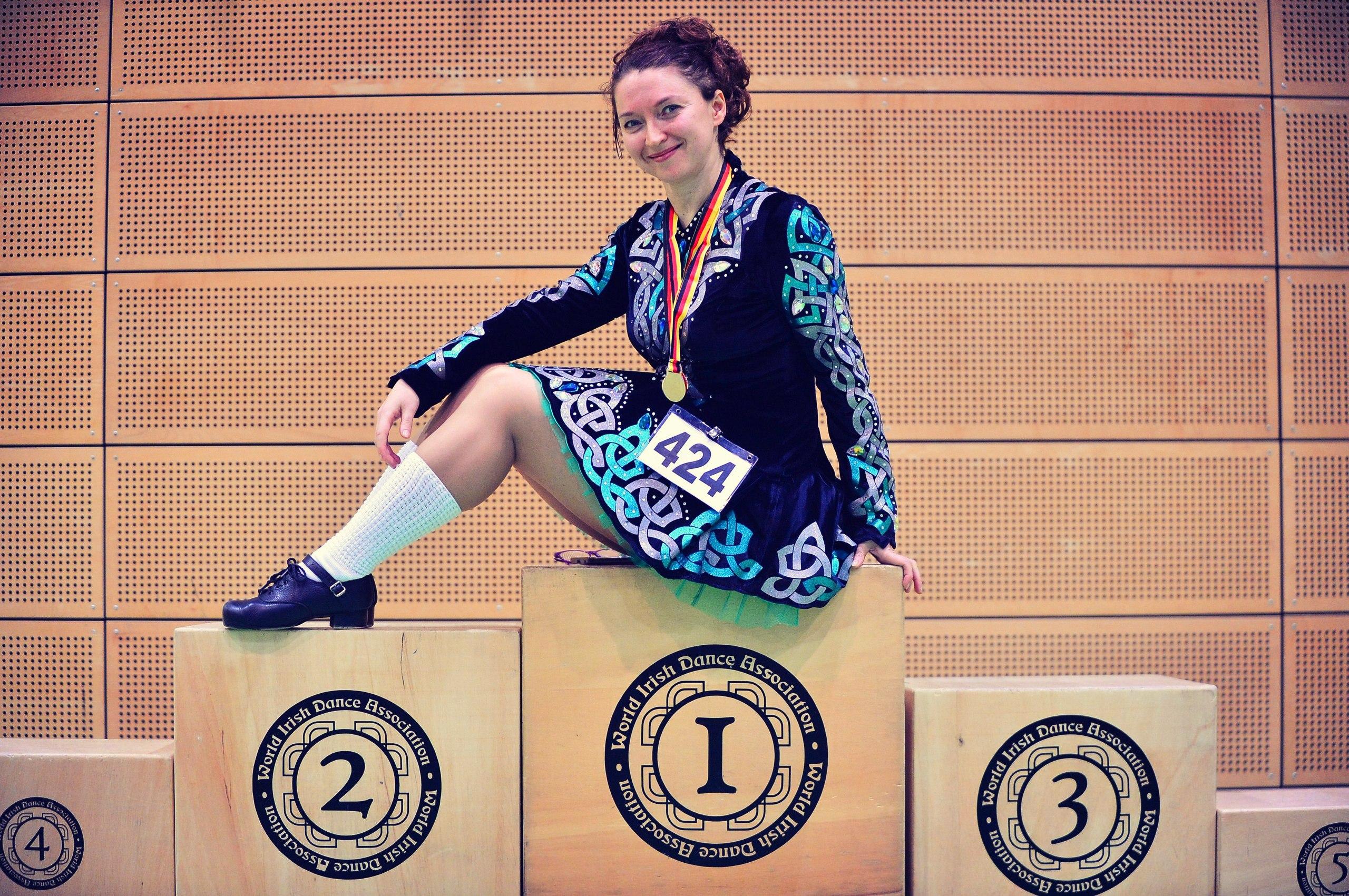 Танцовщица пять лет сдавала экзамены, чтобы получить статус тренера международного класса. Экзамен в Голландии был 11-м по счёту