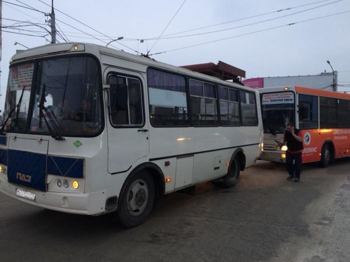 Пассажиры в ДТП не пострадали