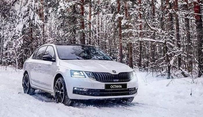 ŠKODA Octavia: надежный автомобиль для поездок зимой